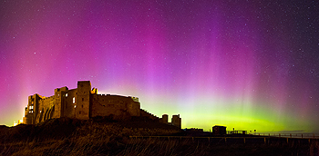 bamburgh northern lights card